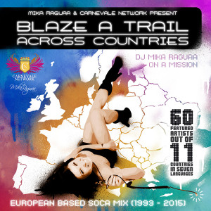 CD COVER - BLAZE A TRAIL